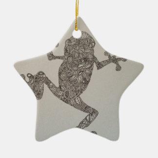 Tree Frog design Christmas Ornament