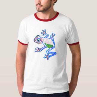 tree frog drawing t shirt