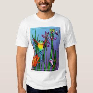 Tree Frog Garden T-shirts