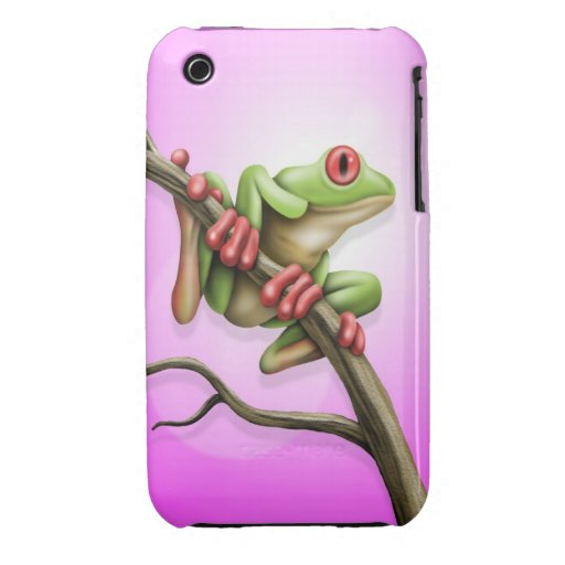 Tree Frog iPhone 3 Cover