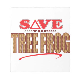 Tree Frog Save Notepad