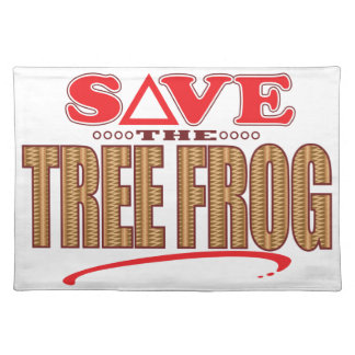 Tree Frog Save Placemat