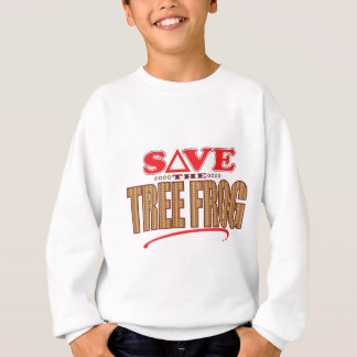 Tree Frog Save Sweatshirt