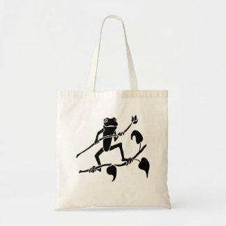 Tree Frog Silhouette Budget Tote Bag