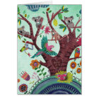 Tree full of life Kids Koala Art | Birthday Card