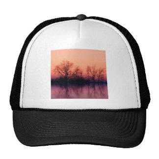 Tree Gloomy Wood Mesh Hats
