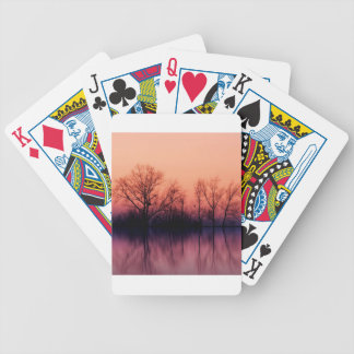 Tree Gloomy Wood Poker Cards