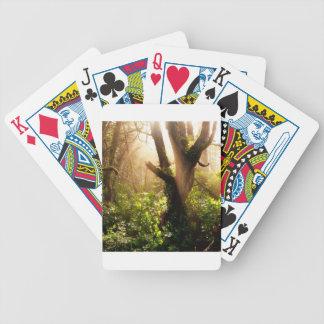 Tree Gloomy Woods Bicycle Poker Deck