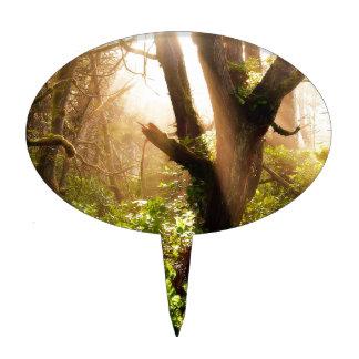 Tree Gloomy Woods Cake Topper