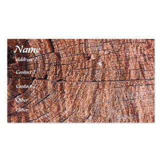 Tree Grain Business Card