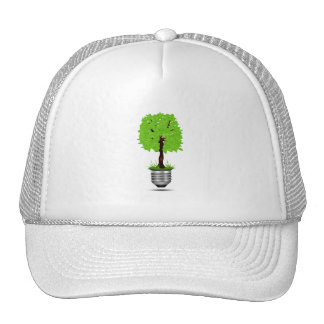 tree graphic in lightbulb base ecology design.png trucker hats