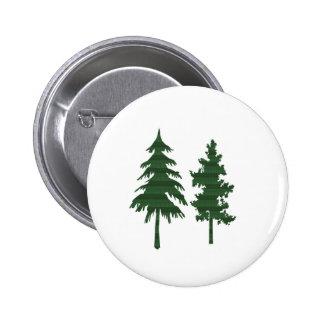 TREE Green Wild Environment Jungle Wood NVN712 6 Cm Round Badge