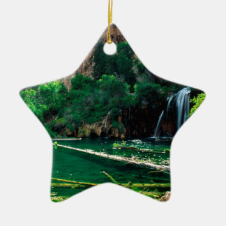 Tree Hanging Lake Glenwood Canyon Colorado Christmas Ornament