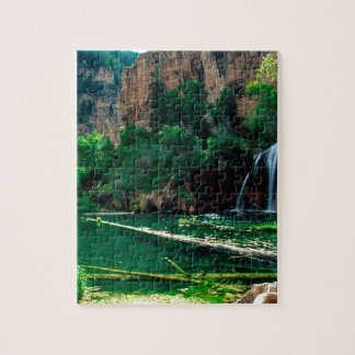 Tree Hanging Lake Glenwood Canyon Colorado Jigsaw Puzzle