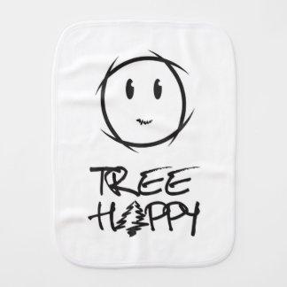 Tree Happy Baby Towel Burp Cloth