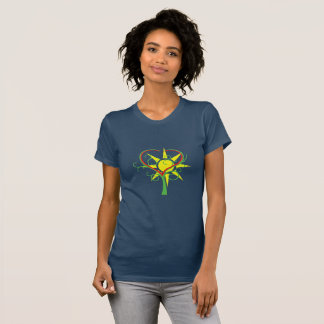 Tree, heart and sun T-Shirt