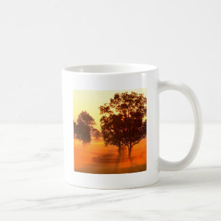 Tree Horse Farm Sunrise Kentucky Coffee Mug