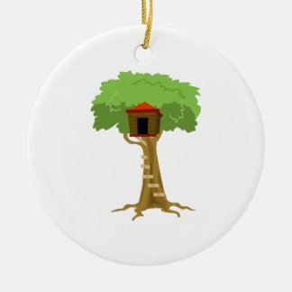 Tree House Christmas Ornament