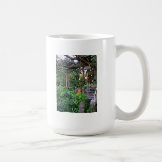 Tree House in the Tropics Coffee Mug