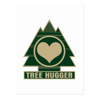 Tree Hugger at Heart Postcard