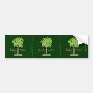 Tree Hugger Car Bumper Sticker