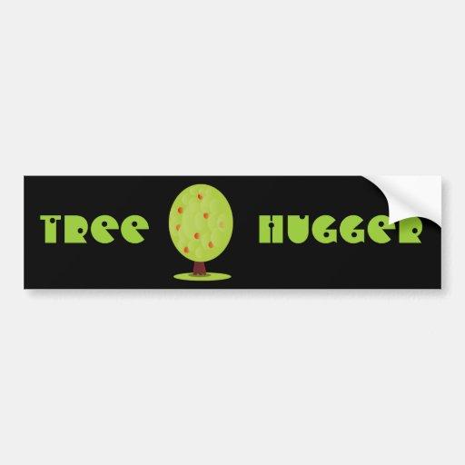 Tree Hugger Bumper Sticker Banner