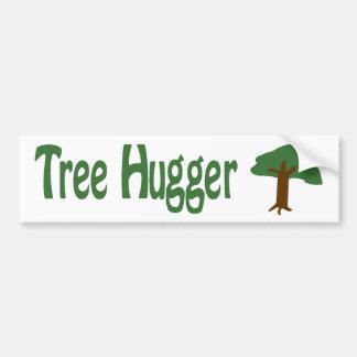 Tree Hugger Bumper Stickers
