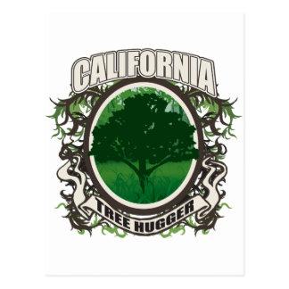 Tree Hugger California Post Cards
