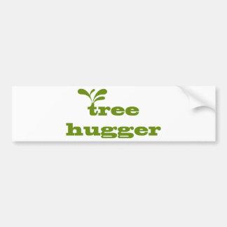 Tree Hugger Design! Bumper Stickers