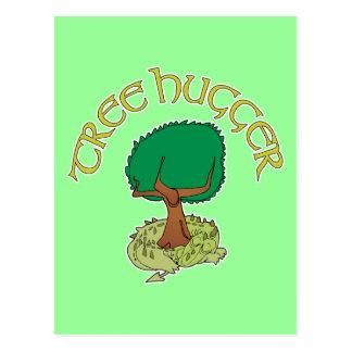 Tree Hugger Dragon Postcard