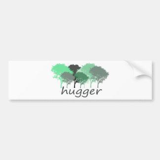 Tree Hugger Exclusive design! Bumper Sticker