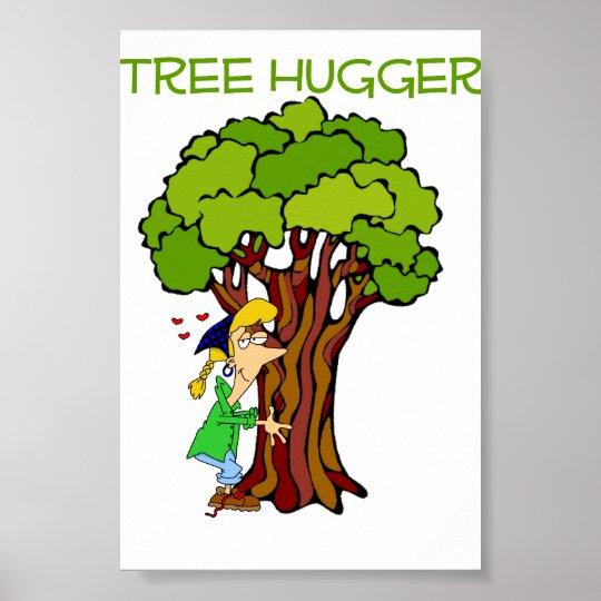 Tree Hugger - Girl Poster