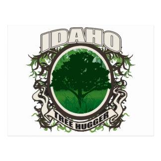 Tree Hugger Idaho Postcard