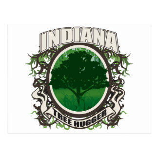 Tree Hugger Indiana Post Cards