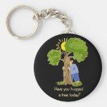 Tree Hugger Key Chains