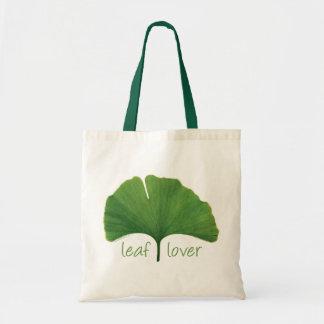 Tree Hugger, Leaf Lover - Ginkgo Canvas Bag