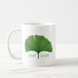 Tree Hugger, Leaf Lover - Ginkgo Coffee Mug