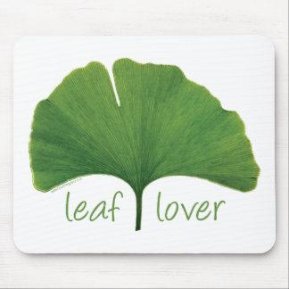 Tree Hugger, Leaf Lover - Ginkgo Mousepad