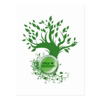 Tree Hugger Love Post Cards