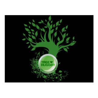 Tree Hugger Love Postcard