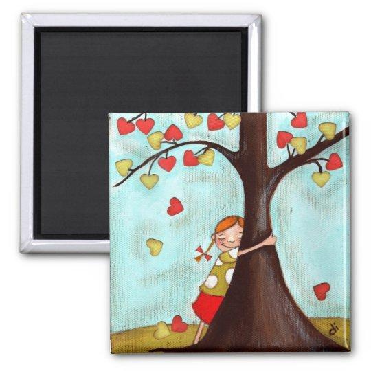 Tree Hugger - Magnet
