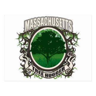 Tree Hugger Massachusetts Post Card