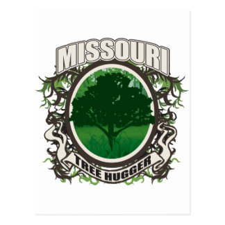 Tree Hugger Missouri Postcards