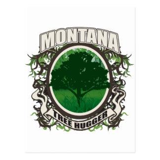 Tree Hugger Montana Postcards