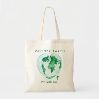 Tree Hugger Mother Earth Environmentalist Tote Bag
