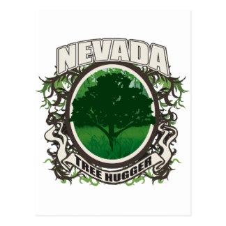 Tree Hugger Nevada Postcard
