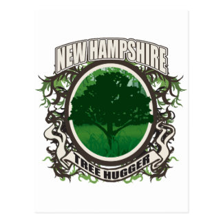 Tree Hugger New Hampshire Post Cards
