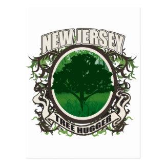 Tree Hugger New Jersey Post Cards