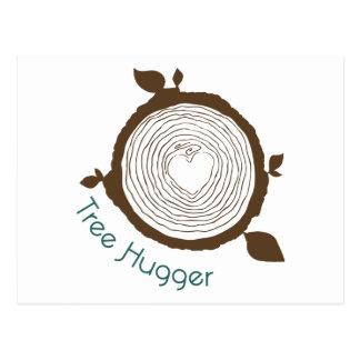 Tree Hugger Post Card