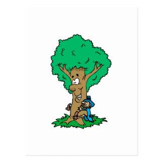 Tree Hugger Post Cards